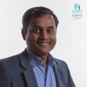 Dr Dinesh Damodaran Consultant Neurologist