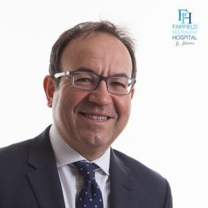 Mr Jordi Sanchez-Ballester Consultant Orthopaedic Surgeon