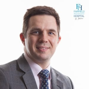 Mr Matthew Kent Consultant Orthopaedic Surgeon
