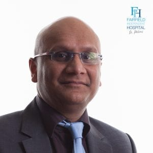 Mr Ravi Pydisetty Consultant Orthopaedic Surgeon