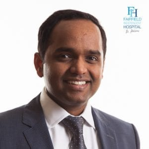 Mr Ravindra Gudena, Ravi Gudena Consultant Orthopaedic Surgeon