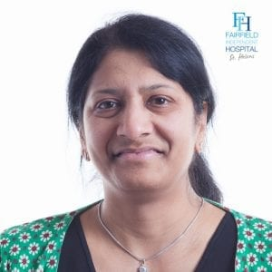 Mrs Sandhya Rao Consultant Gynaecologist