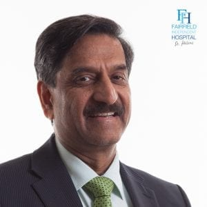 Professor Videsh Raut Consultant Orthopaedic Surgeon