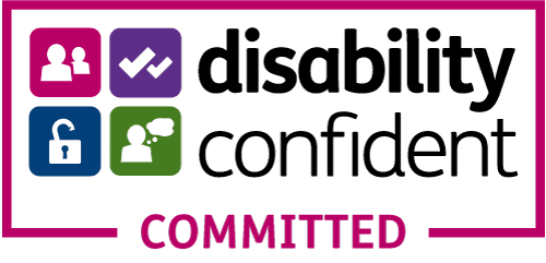 Disability Confident Committed Accreditation Badge