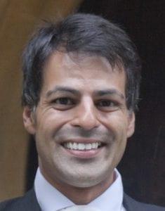 Mr Rishee Parmar, Consultant Orthopaedic Surgeon